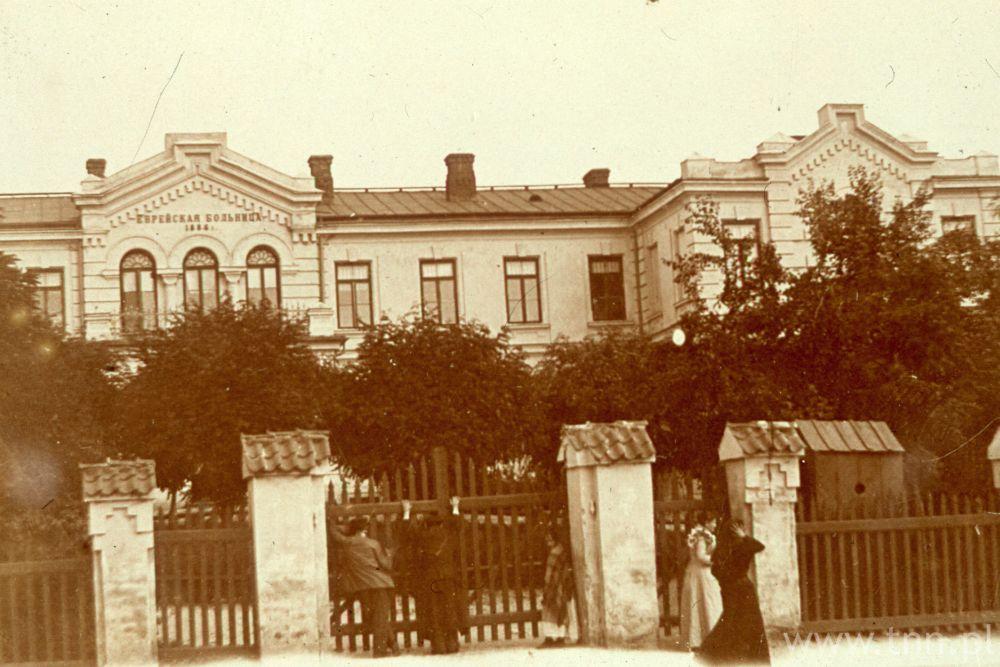 Dawny szpital żydowski przy ulicy Lubartowskiej