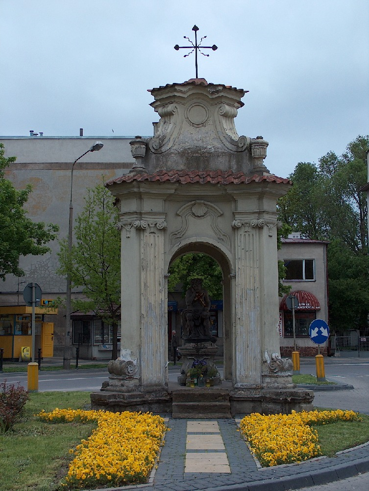 Kapliczka przy ulicy Peowiaków