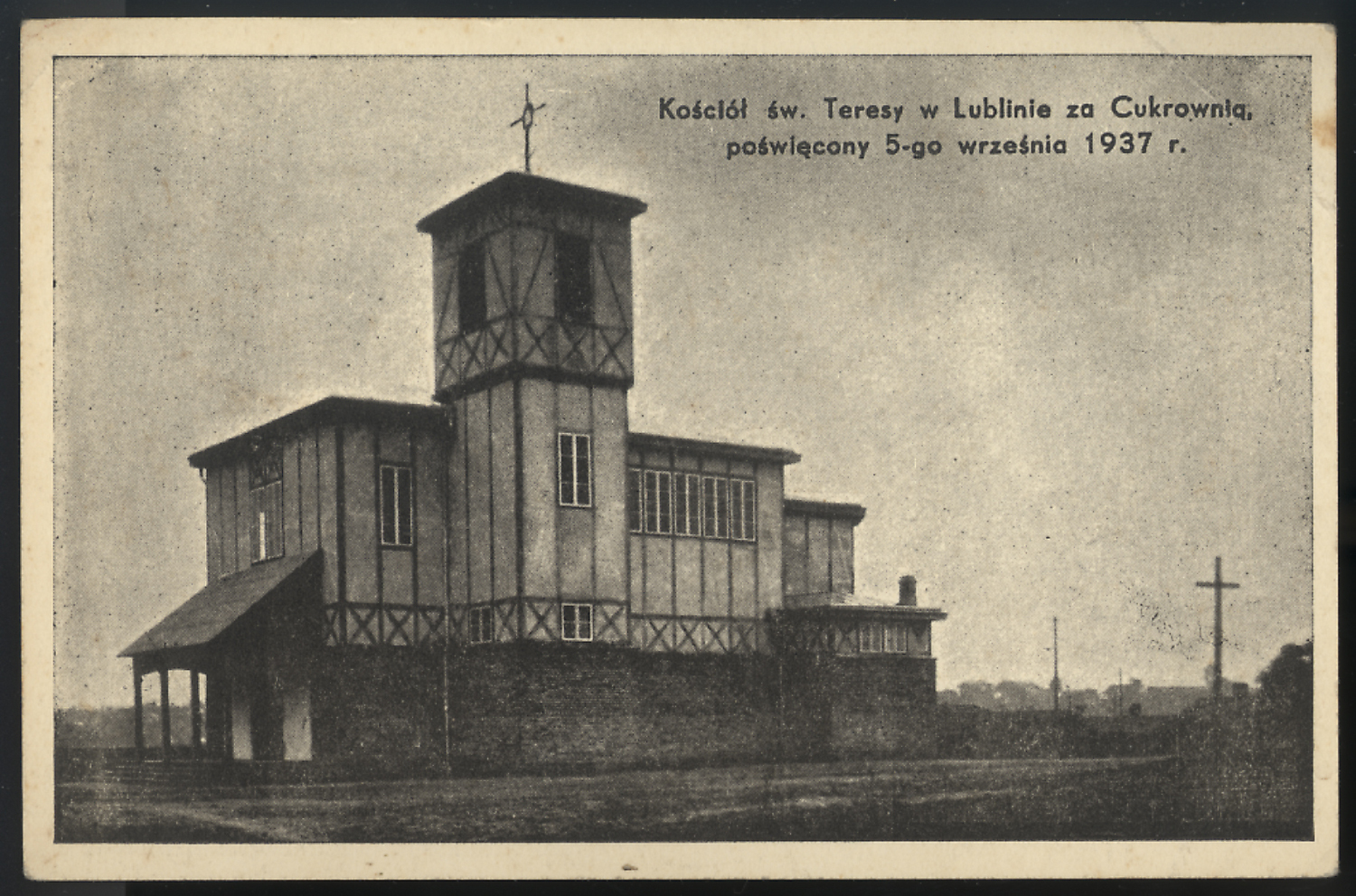 Parish church of St. Theresa, 1937