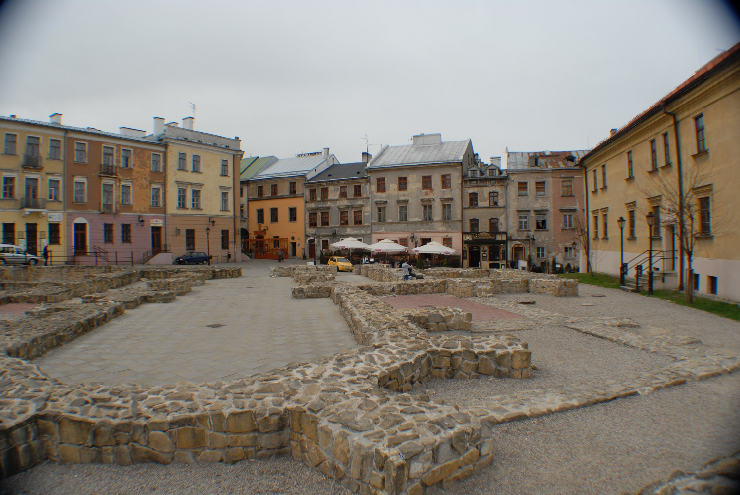 Po Farze Square In Lublin Lexicon Nn Theatre