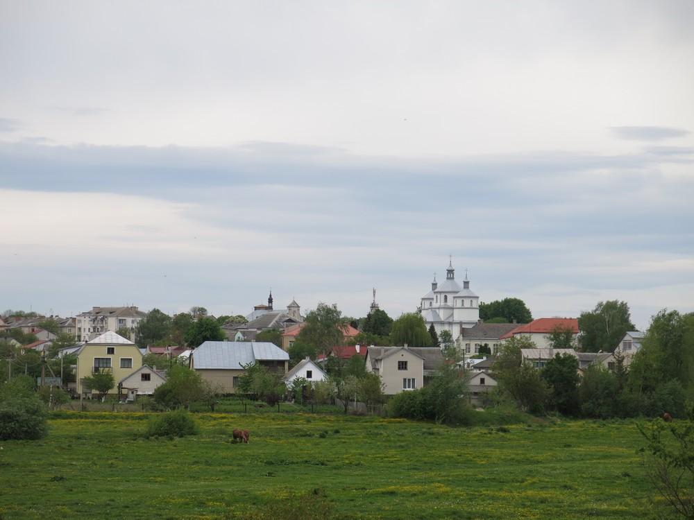 Widok na Busk, 2014, fot. Viktor Zagreba, zbiory archiwum fotografii Centrum Inicjatyw Społecznych i Biznesowych