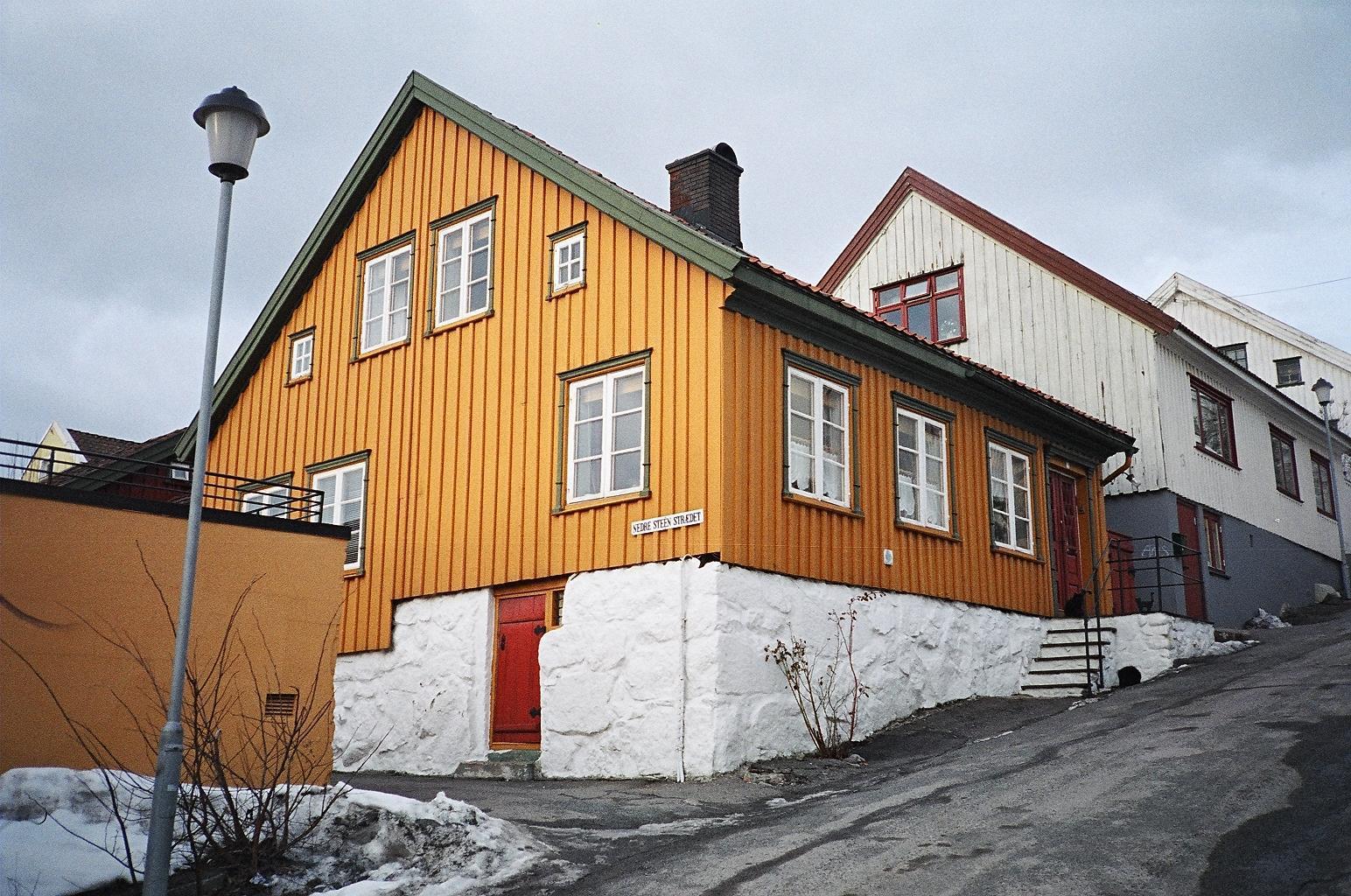 Typowe domy rzemieślnicze i drobnomieszczańskie w Steinane