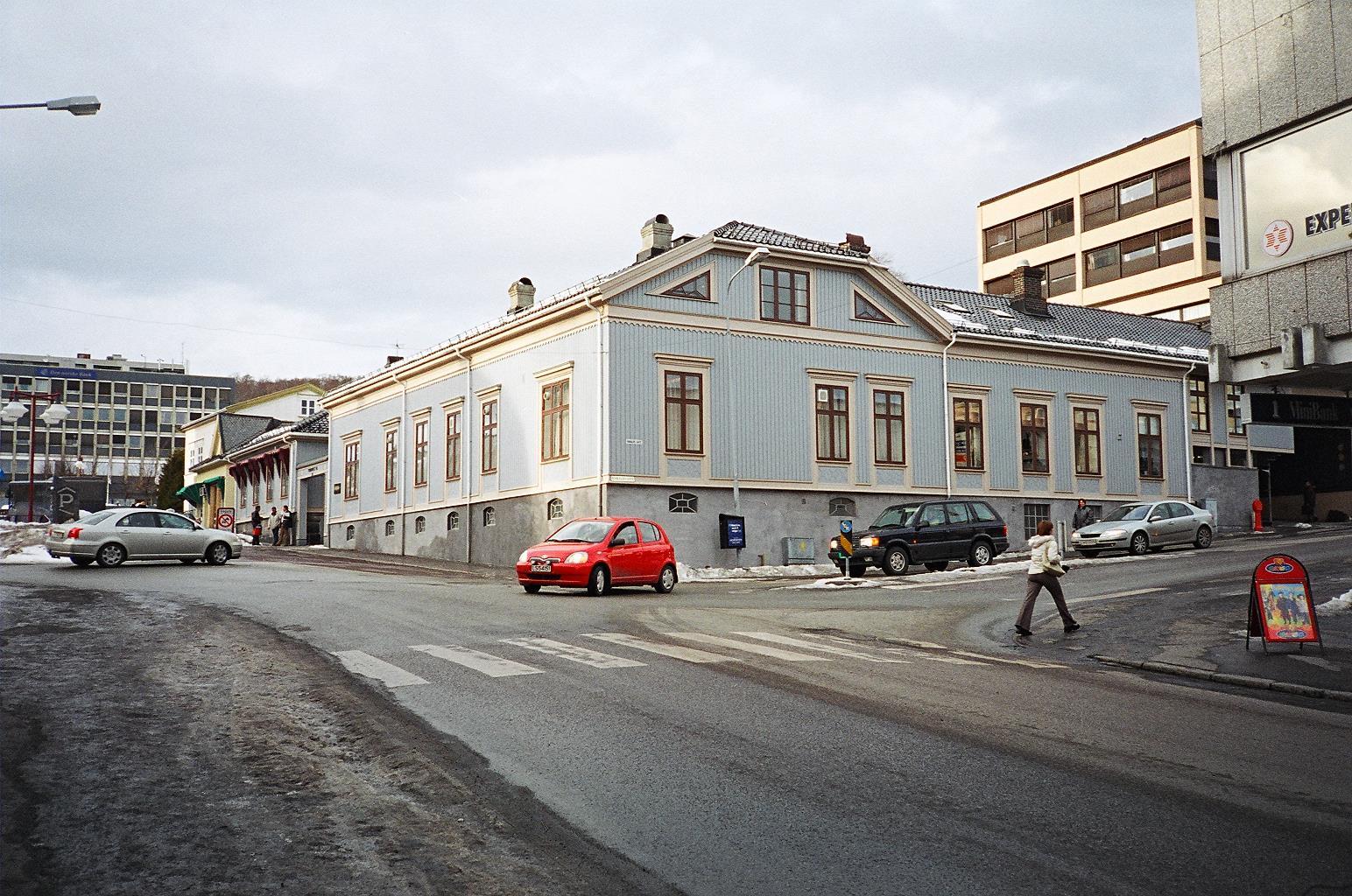 Dom przy ulicy Torget 11 w Larvik