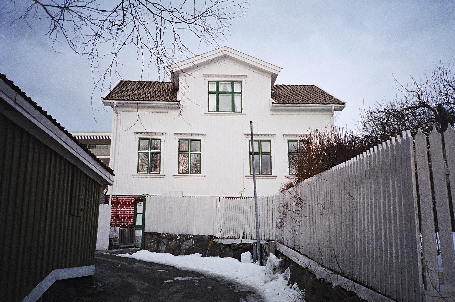 Dom przy ulicy Øvre Steinstredet 7 w Larvik