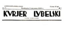 Kurjer Lubelski : pismo codzienne, R. 10, nr 1 (1 stycznia 1932 r.)
