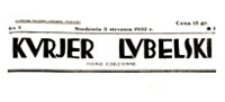 Kurjer Lubelski : pismo codzienne, R. 10, nr 31 (31 stycznia 1932 r.)