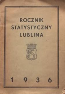 Rocznik Statystyczny Lublina 1936
