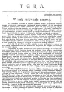 Teka, Nr 19 (1.02.1918)