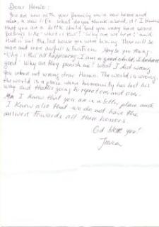 Letters to Henio 2016
