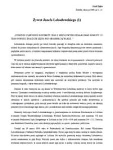Żywot Józefa Łobodowskiego (2)