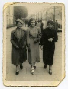 Rojza Akerman, Rojza Mandelbaum and Brandla Finkielsztajn