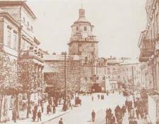 Lublin. Brama Krakowska i plac Łokietka
