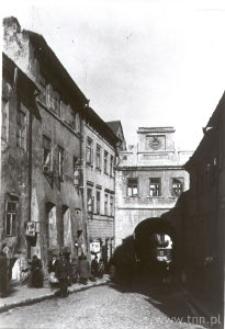 Lublin. Ulica Grodzka i Brama Grodzka