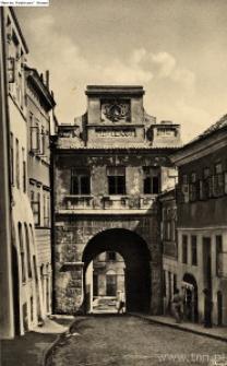 Lublin. Brama Grodzka od strony Starego Miasta