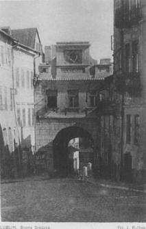 Brama Grodzka w Lublinie od strony Starego Miasta