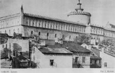 Widok na Zamek Lubelski od ulicy Krawieckiej