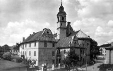 Kościół Bernardynów od ul. Bernardyńskiej