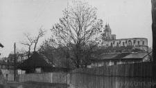 Lublin. Katedra po bombardowaniu we wrzesniu 1939 roku