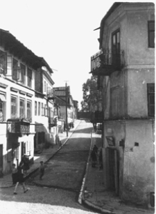 Lublin, ulica Zamkowa, widok od strony ulicy Krawieckiej