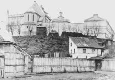 Lublin, ul. Krawiecka i Zamek od strony wschodniej