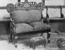 """Krzesło """"Proroka Eliasza"""" z bożnicy na Wieniawie"""