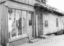 Sklepik w starym domku przy Rynku w Hrubieszowie