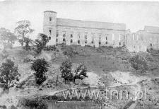 Zamek w Janowcu od strony południowej