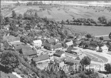 Janowiec - widok ze skarpy w kierunku południowo- wschodnim