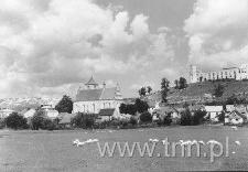 Janowiec - panorama od stony południowej
