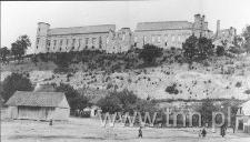 Widok na Zamek od strony drugiego Rynku