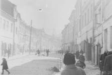 Lublin, ulica Szeroka w okresie funkcjonowania getta
