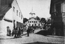 Lublin, ulica Mostowa, skrzyżowanie z ulicą Jateczną