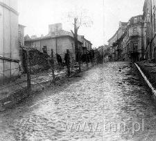 Lublin, fragment ogrodzenia getta na ulicy Rybnej