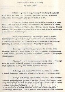 Wydawnictwo z okazji 75 lecia wodociągów miasta Lublina
