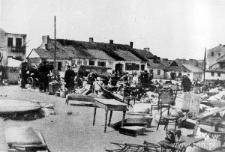 Lublin. Ruiny dzielnicy żydowskiej na Wieniawie