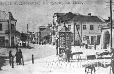 Panorama ul. Lwowskiej z Rynku