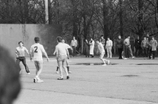 Mecz NSZ i AZS UMCS w 1989 r.