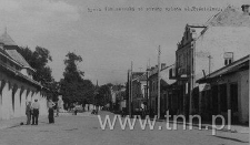 Widok ulicy Kościelnej w Tomaszowie Lubelskim
