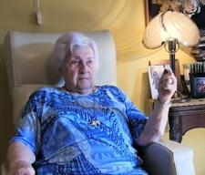 Pamiętam mojego ojca głównie z maszyną do pisania - Ewa Reszczyńska-Maćkowiak - fragment relacji świadka historii [WIDEO]