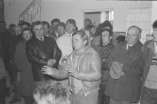 Kandydat do sejmu Tadeusz Mańka podczas wiecu wyborczego w Częstoborowicach