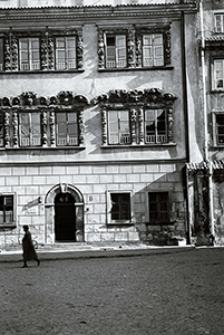 Lublin lat 80. Kamienica Konopniców na Rynku Starego Miasta