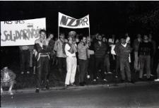 Nocny Przemarsz NZS w maju 1989 roku