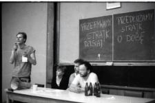 Strajk studentów NZS na UMCS 29 - 30 maja 1989 roku