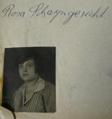 Rosa Szajngezicht