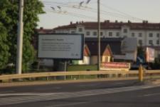 Fraszka Jana Kochanowskiego na billboardzie przy ul. Nadbystrzyckiej