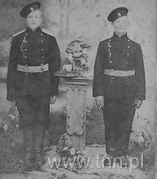 Antoni Kodeniec z Grabowca jako żołnierz armii carskiej