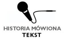 Edukacja i praca zawodowa - Janina Kozak - fragment relacji świadka historii [TEKST]