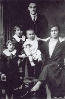 Rodzina Garfinklów z Zamościa