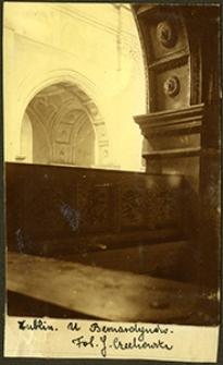 Lublin, wnętrze kościoła bernardynów