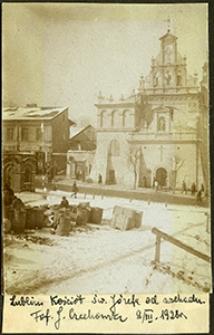 Lublin, kościół św. Józefa, widok od wschodu